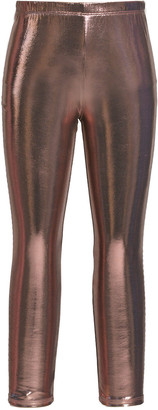 Hannah Banana Girl's Metallic Leggings, Size 7-14