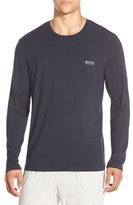 BOSS Men's Stretch Modal Long Sleeve T-Shirt