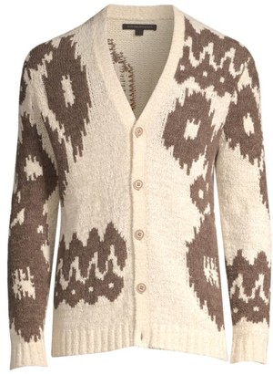 John Varvatos Bannister Button-Up Cardigan