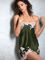 Very Sexy NEW!Lace Appliqué Satin Slip