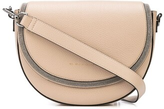 Brunello Cucinelli Logo Cross-Body Satchel Bag