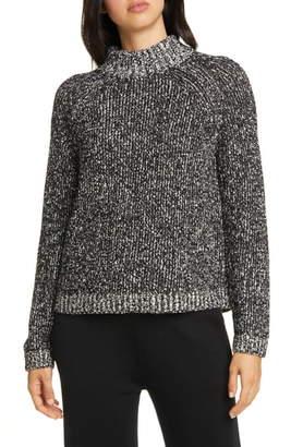 Eileen Fisher Funnel Neck Box Sweater