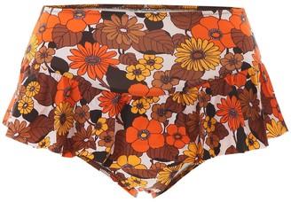 Dodo Bar Or Floral Print Bikini Bottoms