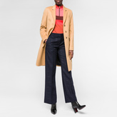 Paul Smith Women's Tan Wool-Cashmere Epsom Coat