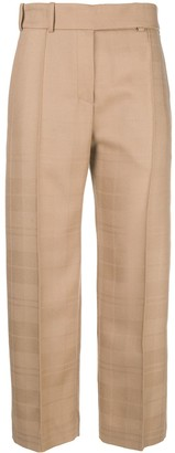 Alexandre Vauthier Creased Cropped Trousers