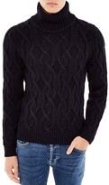 Sandro Mont Blanc Cable Knit Turtleneck Sweater