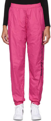 Opening Ceremony SSENSE EXCLUSIVE Pink Nylon Track Pants