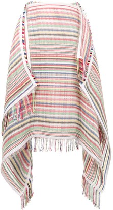 J.W.Anderson Striped Scarf Skirt