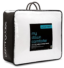 Bloomingdale's My Warmest Asthma & Allergy Friendly Down Comforter, King - 100% Exclusive