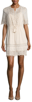 French Connection Florence Lace Above The Knee Dress