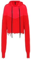 Unravel Oversized wool and cashmere hoodie