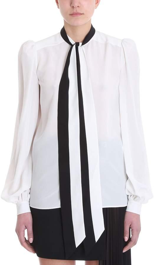 Givenchy White Silk Shirt