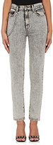 Marc Jacobs Women's Embellished Acid-Wash Straight Jeans
