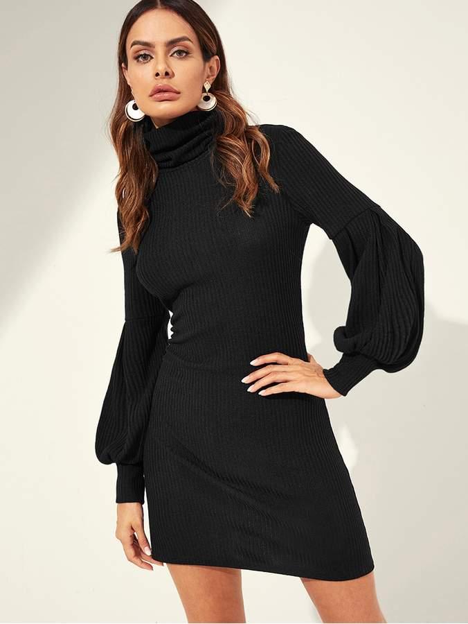 cddd2c70 Shein High Neck Dresses - ShopStyle