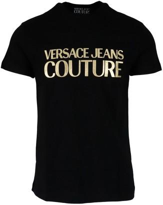 Versace Jeans Couture Slim Logo Foil T-shirt