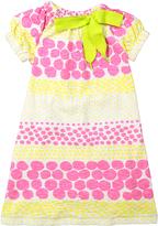 Morgan & Milo Pink & Lemon Ruby Dress - Toddler & Girls