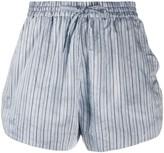 Faith Connexion striped print shorts
