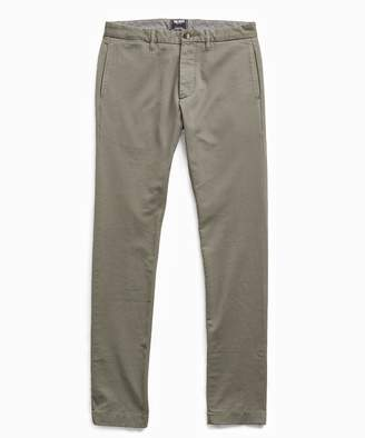Todd Snyder Japanese Garment Dyed Selvedge Chino in Flagstone