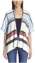 Cliche Clich Women's Denim Stripe Cardigan