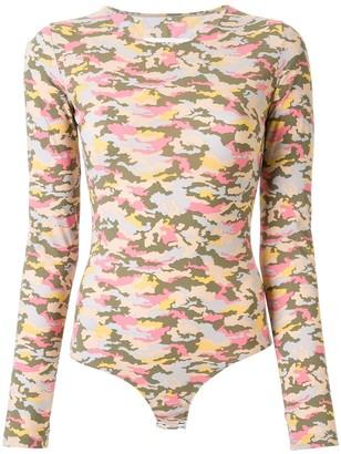 MM6 MAISON MARGIELA Camouflage Bodysuit