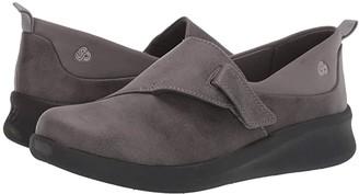 Clarks Sillian 2.0 Ease (Grey Synthetic) Women's Shoes