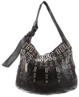 Jimmy Choo Black Patent Leather Hobo