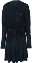 Sonia Rykiel slim pleated dress