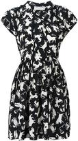 Saint Laurent babydoll lavaliere horoscope dress