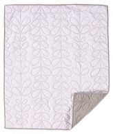 Living Textiles Baby Mix & Match Quilted Comforter in White/Grey
