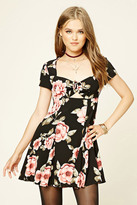 Forever 21 FOREVER 21+ Floral Swing Dress
