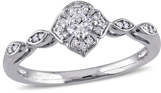 Rina Limor Fine Jewelry 10K 0.21 Ct. Tw. Diamond Ring