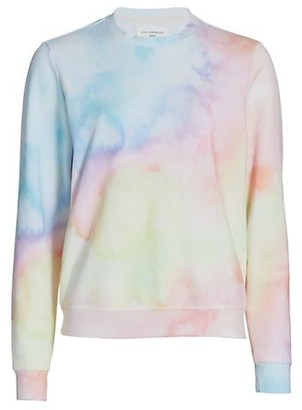 Sol Angeles Watercolor Pullover Sweater