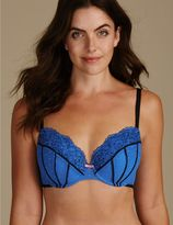 Marks and Spencer Lace Padded Balcony Bra A-E
