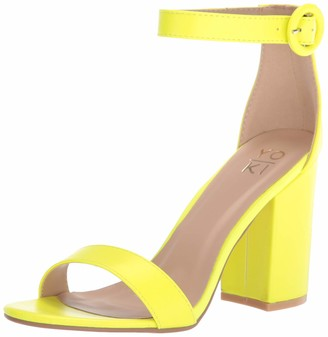 Yoki Friday Women's Single Strap High Heel Tie Dye