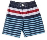 iXtreme Baby Toddler Boy Striped Swim Trunks