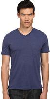 Vince V-Neck Pocket Tee Men's T Shirt