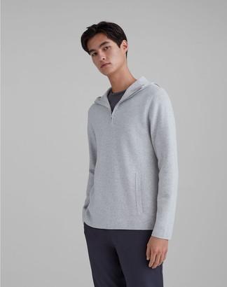 Club Monaco Quarter Zip Hoodie Sweater