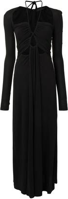 Proenza Schouler Jersey Drawstring Dress