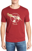 Lucky Brand Fender Gold of Thunder Graphic Crew Neck T-Shirt