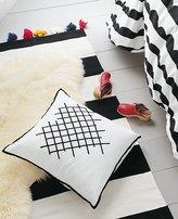 Cross-Stitch Heart Pillow