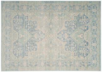 One Kings Lane Pasha Rug - Seafoam/Blue - 5'x7'