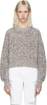 Alexander Wang Multicolor Cropped Sweater
