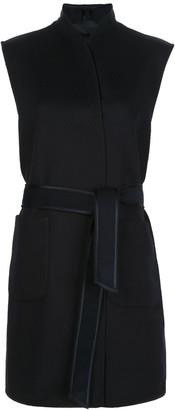 Royl Belted Long-Line Waistcoat