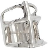 Pamela Love Cross Silver Ring - 6