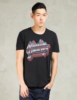 Nudie Jeans Black Metal O-neck T-Shirt