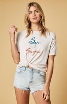 MinkPink Sea And Sangria T-Shirt