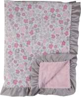 Laura Ashley Double Sided Infant Blanket with
