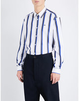Vivienne Westwood Regular-fit Stripe-print Cotton Shirt