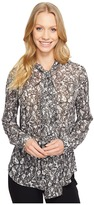 MICHAEL Michael Kors All Over Umbria Button Down Top Women's Clothing