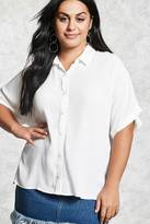 Forever 21 FOREVER 21+ Plus Size Button-Down Shirt